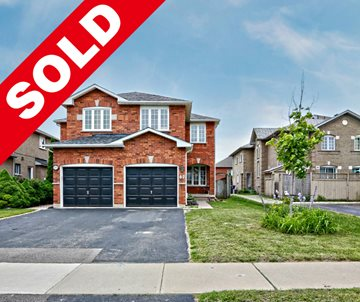 SOLD BRAMPTON - OPEN CONCEPT SEMI