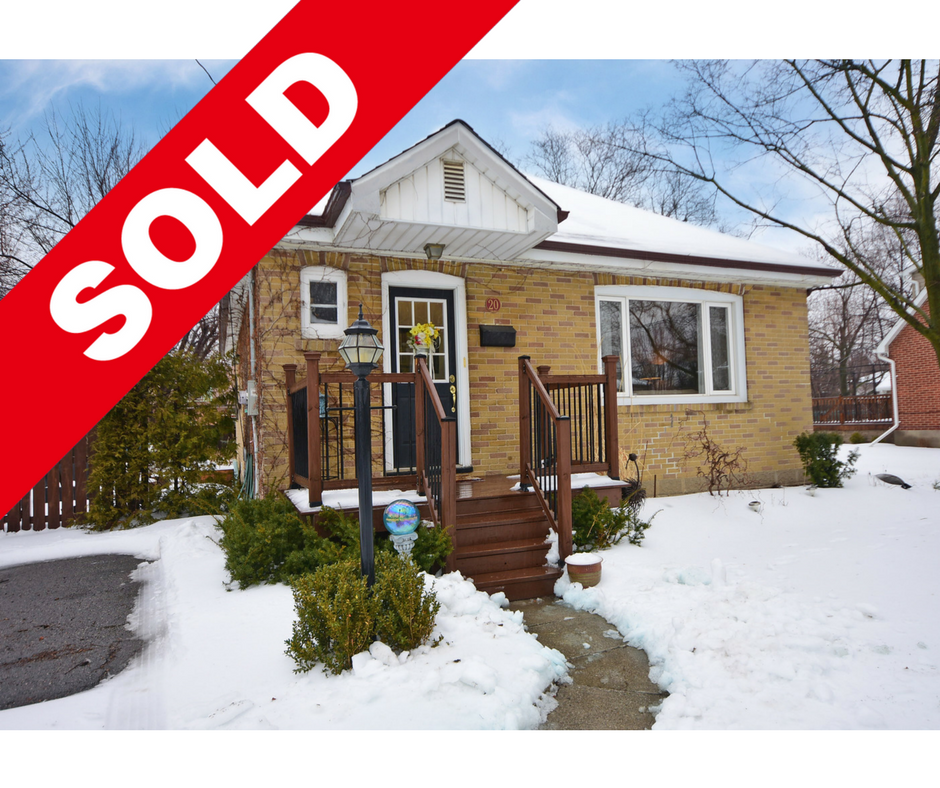 SOLD: DOWNTOWN BRAMPTON BUNGALOW WITH SERENE POND