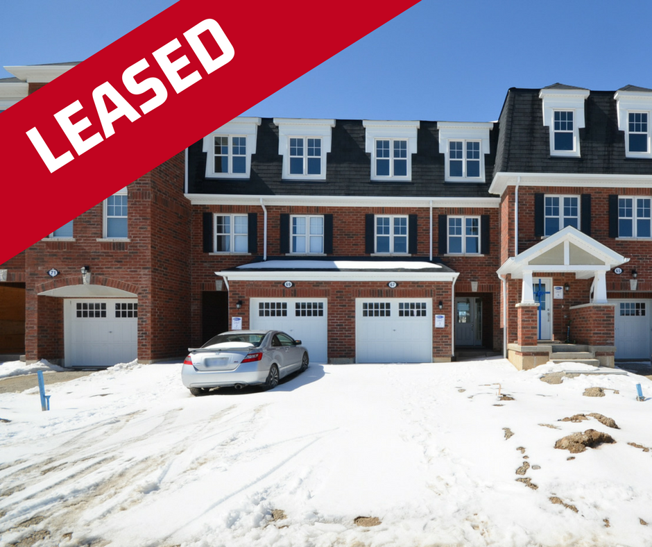 LEASED: BRAND NEW TOWNHOUSE IN MOUNT PLEASANT