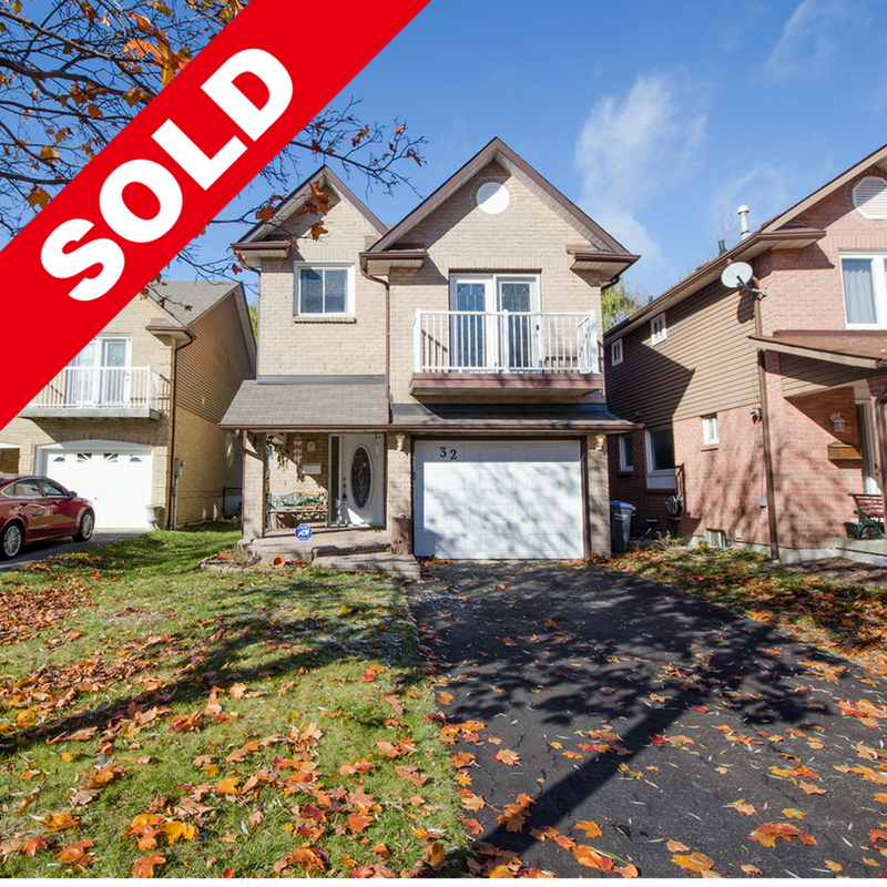 SOLD: 32 Burton Road A Brampton House For Sale in The 6ix By JN Asensio Realty