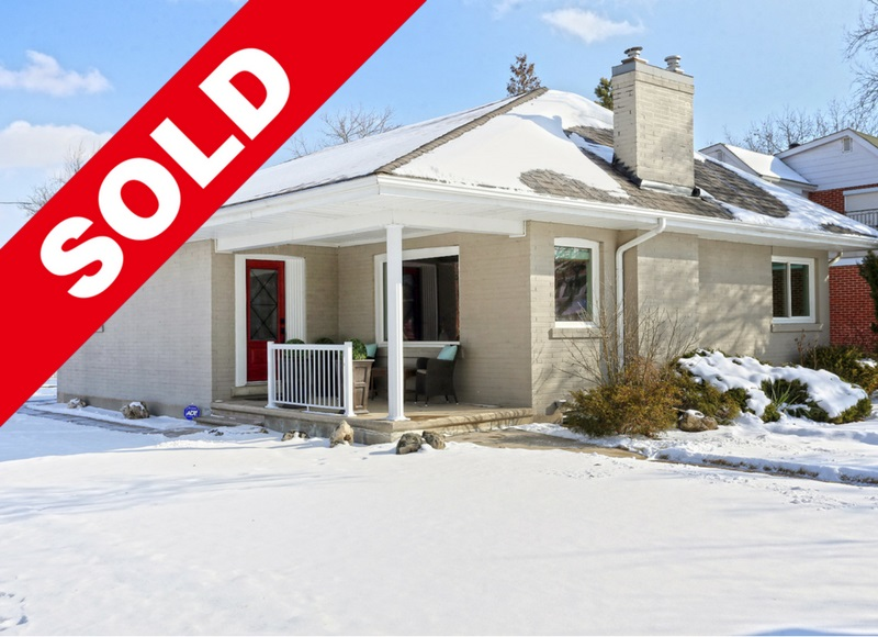 SOLD: Executive Bungalow In Downtown Brampton