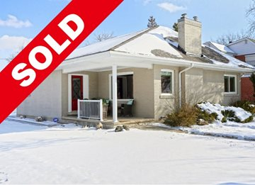 SOLD Executive Bungalow In Downtown Brampton